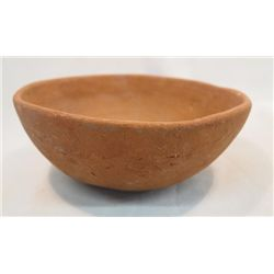 Pre-Columbian Redware Traditional Bowl