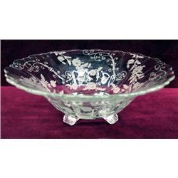 Cambridge Glass - ''Elaine'', Footed Console Bowl