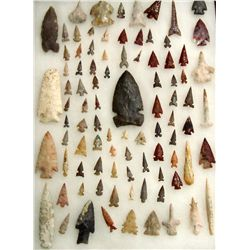 Large Collection Arrowheads & Stone Tools