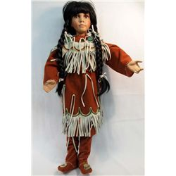 Large Native American Indian Doll