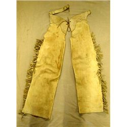 Vintage Juvenile's Fringed Leather Chaps