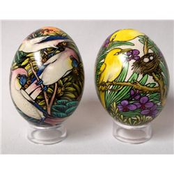 Indonesian Hand Painted Duck Eggs