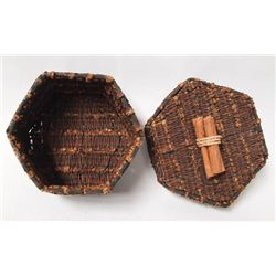Indonesian Hand Woven Clove Treasure Box