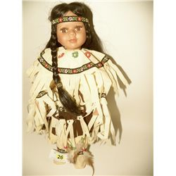 Native American 16  Doll