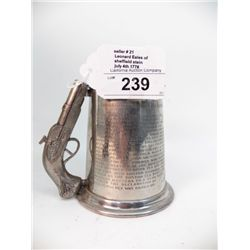 Sheffield Pewter Stein by  Leonard Eales -- July 4th 1776 Declaration of Independence