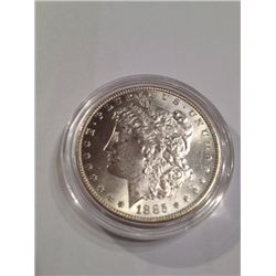 1885 BU Silver Morgan Dollar