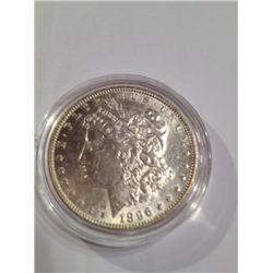1896 Brilliant Uncirculated Morgan Dollar