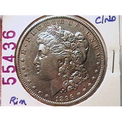 1896-O Morgan Dollar AU50