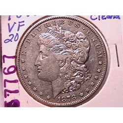 1878-S Morgan Dollar VF20