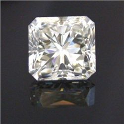 GIA Certified Radiant Cut Diamond 1.00 ctw F VVS1