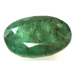 Natural 4.83ctw Emerald Oval Stone