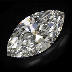 Diamond EGL Certified Marquisse 1.14 ctw D, SI1