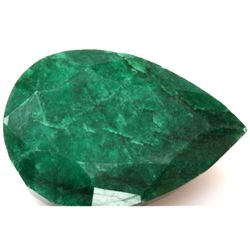 Natural 13.5 ctw Emerald Pear Shape