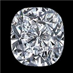 GIA Certified Cushion Cut Diamond 1.00 ctw F VS1