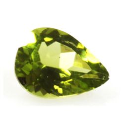 Natural 2.67ctw Peridot Pear Shape 8x11 Stone