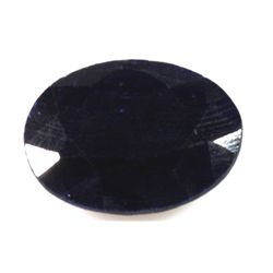 Natural African Sapphire Loose 17ctw Oval Cut