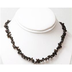 Natural 150.96ctw Garnet Rocks Beads Necklace