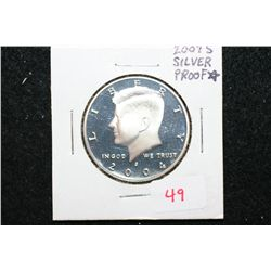 2004-S Kennedy Half Dollar; Silver Proof