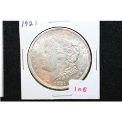 1921 Silver Morgan $1