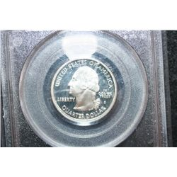 2000-S New Hampshire State Quarter-Silver; PCGS Graded PR69DCAM