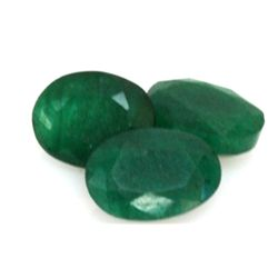 Natural 13.88 ctw Emerald Oval (3)