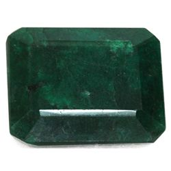 African Emerald Loose Gems 252.48ctw Emerald Cut