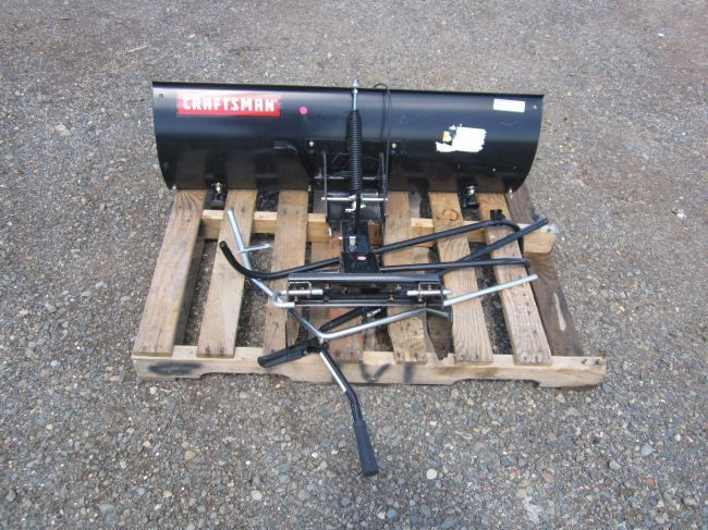Craftsman Snow Plow : Craftsman snow plow blade