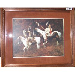  PAINTS   by HOWARD TERPNING 913/1000 Custom Framed
