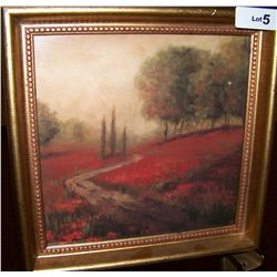 Nicely framed Impressionist Style Fine Art Print