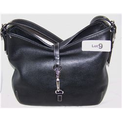 LADIES BLACK COACH PURSE #K30-9266 NEW