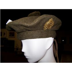 SCOTTISH VINTAGE WOOL MILITARY HAT