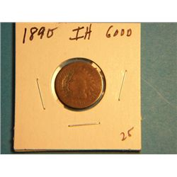 1890 INDIAN HEAD CENT