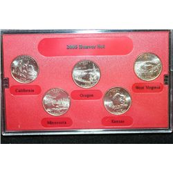 2005-D State Quarter Proof Set