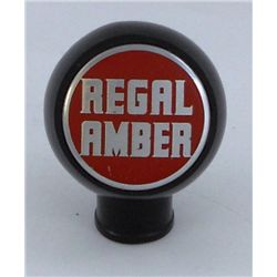 Regal Amber - Ball Knob