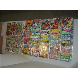 LOT 63 MARVEL THOR COMIC BOOKS