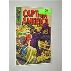 VINTAGE MARVEL #108 CAPTAIN AMERICA COMIC BOOK