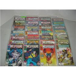 LOT 28 MARVEL WOLVERINE COMIC BOOKS