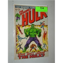 VINTAGE MARVEL THE INCREDIBLE HULK #152 COMIC BOOK