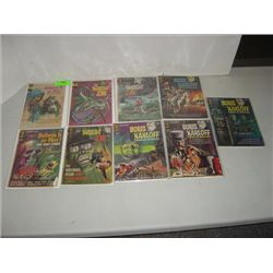 LOT 9 VINTAGE COMIC BOOKS GOLD KEY WHITMAN