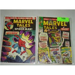 LOT 2 MARVEL COMICS MARVEL TALES COMIC BOOKS