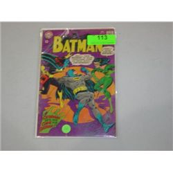 VINTAGE DC COMICS BATMAN COMIC BOOK #197