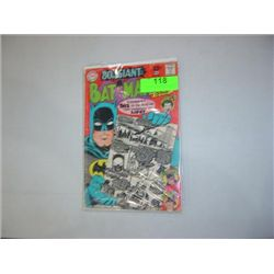 DC COMICS BATMAN #198 GIANT ISSUE COMIC BOOK