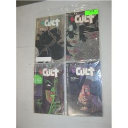 DC COMICS BATMAN THE CULT BOOK 1 - 4