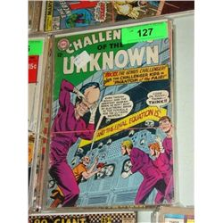 LOT 6 DC THE CHALLENGERS OF THE UNKNOWN COMIC BOOK