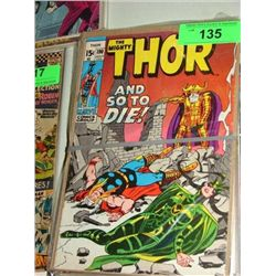 LOT 10 MARVEL COMICS THE MIGHTY THOR COMIC BOOKS