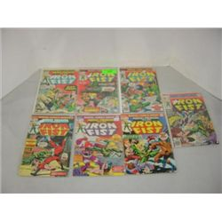 LOT 7 MARVEL COMICS IRON FIST COMIC BOOKS