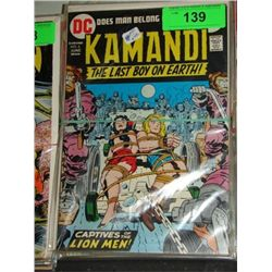 LOT 9 DC KAMANDI LAST BOY ON EARTH COMIC BOOKS