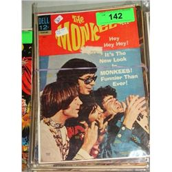 LOT 16 DELL COMIC BOOKS LASSIE THE MONKEES