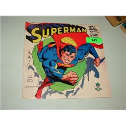 1978 SUPERMAN #8211 RECORD ALBUM 4 ADVENTURES