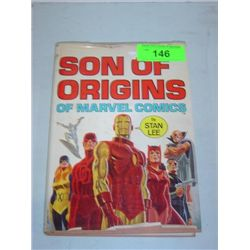 SON OF ORIGINS OF MARVEL COMICS STAN LEE BOOK